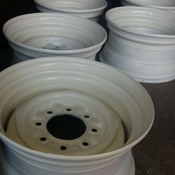 Widen steel wheels